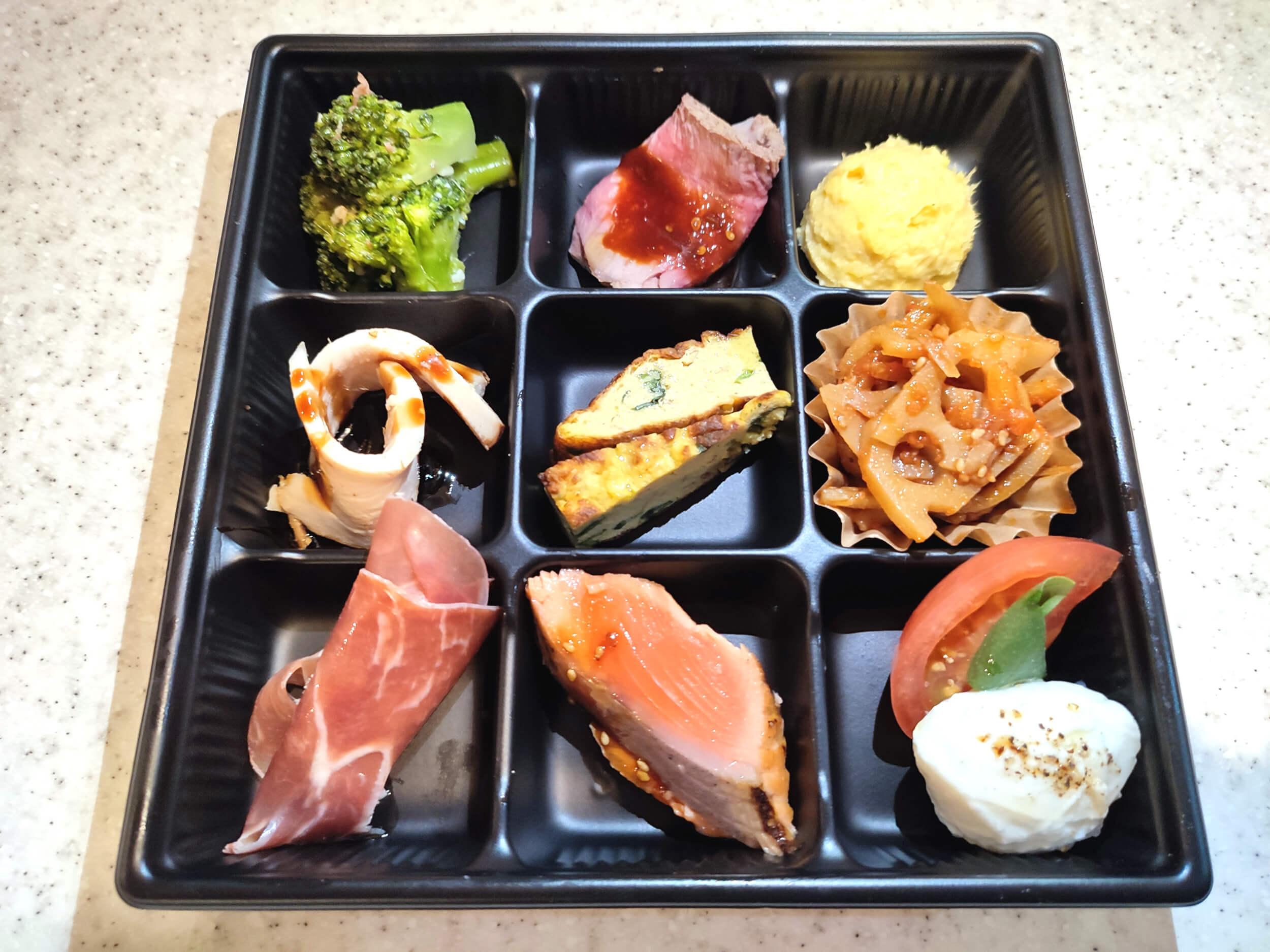 9種前菜盛り合わせ1200円